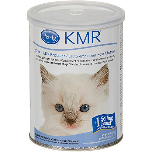 Pet Ag KMR Powder Kitten Milk Replacer 12 oz - Pack of 2