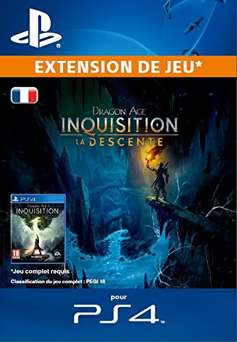 Dragon Age : Inquisition - La Descente [Extension De Jeu] [Code Jeu PSN PS4 - Compte français]