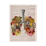 YOBAIH 1000 pcs Puzzle Madera niño Puzzle Hermosos pulmones Divertido Juego Familiar Juguetes decoración del