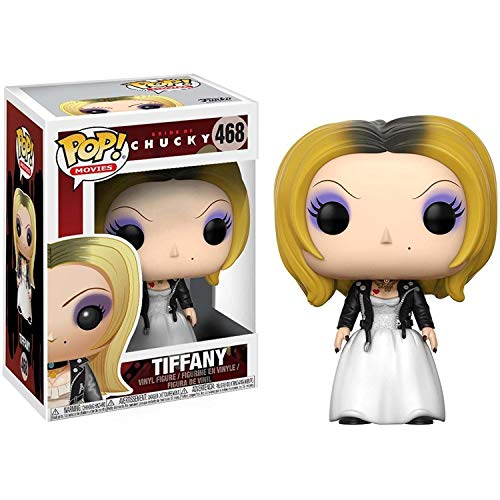 Lotoy Pop Movie Series - Bride of Chucky Tiffany #468 Vinyl 3.75inch Figure Movie Derivatives Gift