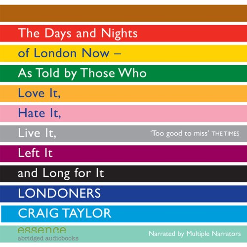 Londoners audiobook cover art