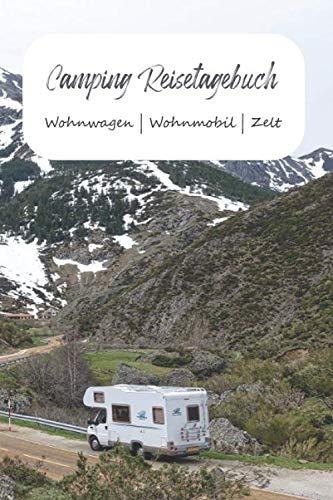 Camping Reisetagebuch Wohnwagen   Wohnmobil   Zelt: A5 Logbuch für Reisen   Camper Tagebuch   Perfektes Reise Zubehör für Reisen durch Norwegen, ... für WoMo, Camper, Reisemobil oder Zelt.