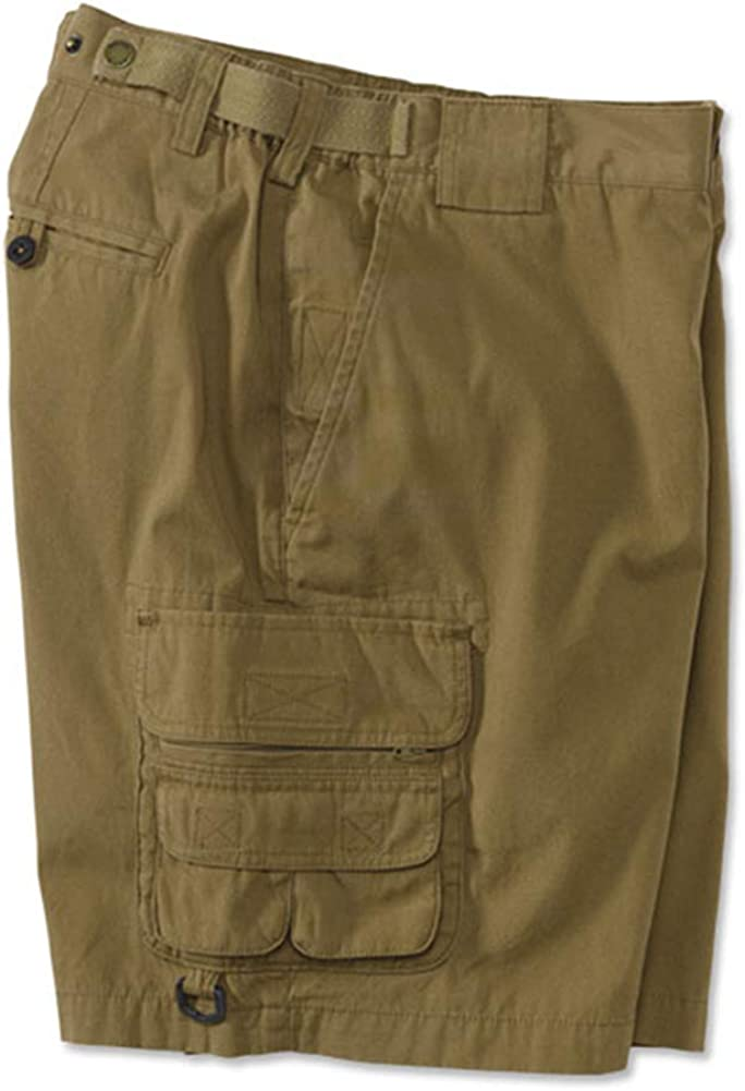 Orvis 14-Pocket Expedition Poplin Cargo Shorts