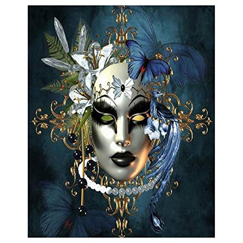 DIY 5D Diamond Painting Kits for Adults Kids Round Full Drill Diamond Arts Craft for Home Wall Decor (11.8 x 15.8 in)