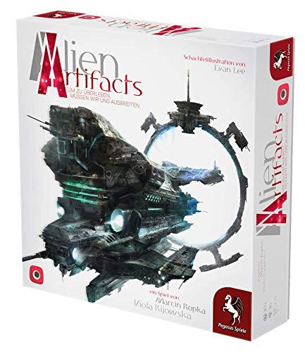 Pegasus Spiele 57503G - Alien Artifacts (deutsche Ausgabe)