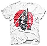 Officiellement Marchandises Sous Licence Katana T-Shirt (Blanc), XX-Large