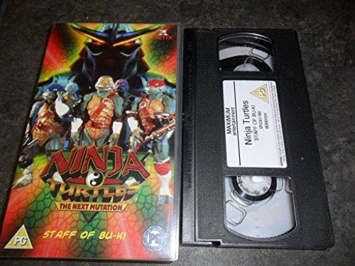 Ninja Turtles - The Next Mutation: Staff Of Bu-Ki [VHS]