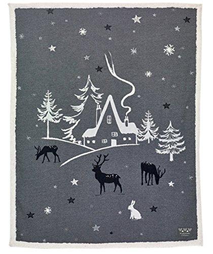 Coperta Natale - Paesaggio natalizio