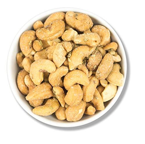 1001 Frucht Cashewkerne mit Calabria Oliven 1000 g I würzige Cashew Kerne mit mediterranen grünen Oliven und Rosmarin I Cashewnüsse ohne Konservierungsstoffe, ohne zusätzliches Aroma I Vegan I 1 kg