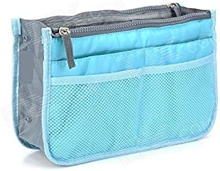 TOS® Handbag Organizer | Travel Storage Bag | Multi Pocket Pouch | Function Bag Organizer | Gadget Bag | 13 Compartments Multi-Pocket Hanging Handbag (Multicolor-1 Pc)