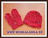 Mütze und Handschuhe Babys Grundanleitung
