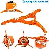 ZREAL Bidon à carburant sont portable Trépied Stabilisateur de carburant pour réchaud de camping accessoires