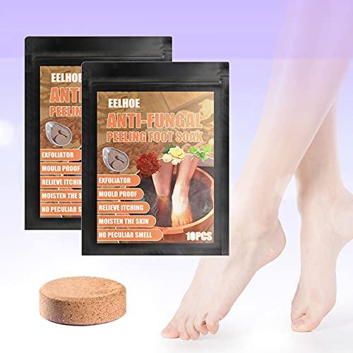 10pcs set Foot Soaking Tablets, Foot Soak Chinese Herbal Foot Bath Spa Boost Immunity, Natural Chinese Medicine Foot Bath Health Care Tool Improve Sleeping (two)