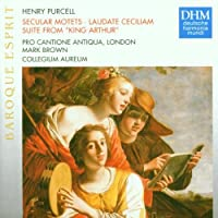 Purcell;Secular Motets