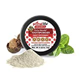 Dirty Mouth Tooth Powder for Teeth Whitening, Toothpaste Powder Teeth Whitener with Essential Oils and Bentonite Clay, 60 uses, Sweet Peppermint Flavor (.25 oz) - Primal Life Organics