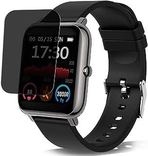 Vaxson Sekretess skärmskydd, kompatibel med Donerton X11 1,4 tum Smartwatch Smartwatch, anti-spionskydd filmskydd klisterm...