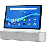 "Lenovo Smart Tab M10 Plus, FHD 10.3"" Android Tablet, Alexa-Enabled Smart Device, Octa-Core Processor, 64GB Storage, 4GB RAM, WiFi, Bluetooth, ZA6M0013US, Platinum Grey"