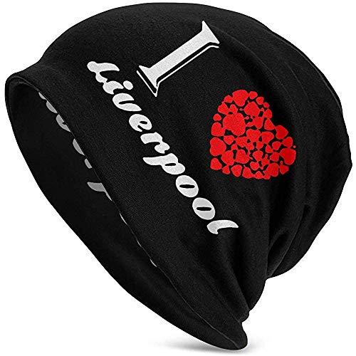 Preisvergleich Produktbild Mamihong Männer und Frauen Ich Liebe Liverpool Beanie Cap Ideal für den Sport