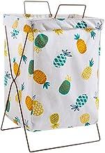 Laundry Hamper Large Organizer Foldable Drity Laundry Basket Hamper Kids Iron Frame Canvas Bathroom Storage Toy Laundry Ba...