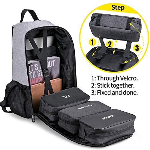 Laptop Backpack Bag, Waterproof Hiking Duffle Travel Diaper Bag for Women Men