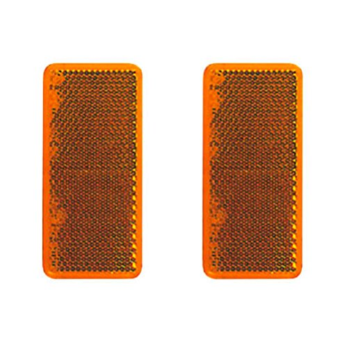 DEMA Catadiottro 95 X 38 mm Orange autoadesivo pezzi