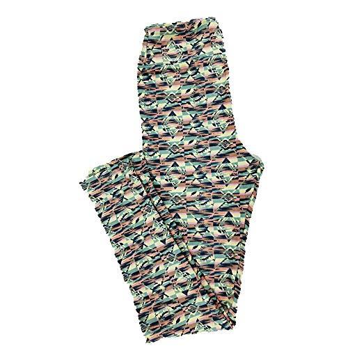 Lularoe Tween Leggings Geometric Fits Adult Sizes 00-0