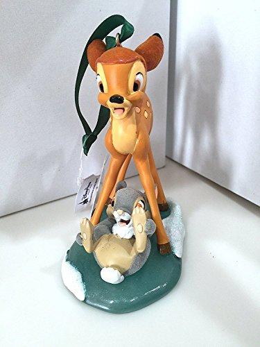 Disney Parks Bambi und Klopfer auf Eis Figur New
