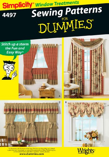 Simplicity Sewing Pattern 4497 Home Decorating, One Size