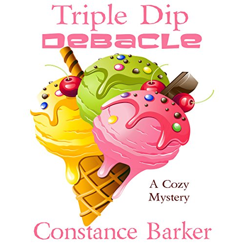 Triple Dip Debacle     Caesar's Creek Mysteries, Book 7              By:                                                                                                                                 Constance Barker                               Narrated by:                                                                                                                                 Angel Clark                      Length: 1 hr and 28 mins     12 ratings     Overall 4.5
