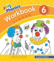 Jolly Phonics Workbook 6 in Print Letters