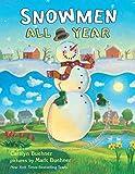 Snowmen all year picture book preschool