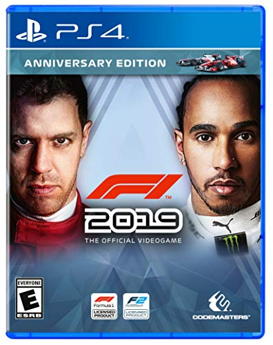 F1 2019 Anniversary Edition for PlayStation 4 [USA]