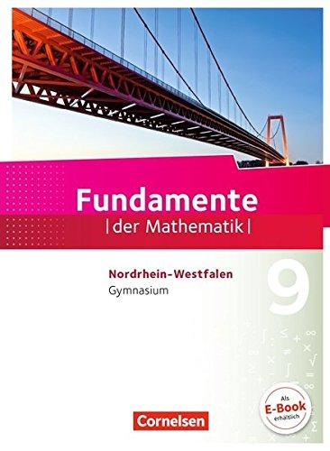 Fundamente der Mathematik - Nordrhein-Westfalen: 9. Schuljahr - Schülerbuch