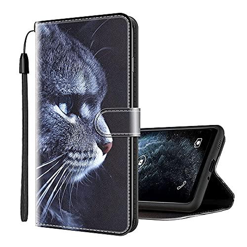 Sinyunron Handy Schutzhülle Kompatibel mit DOOGEE X6 Pro Hülle Handy Tasche Hülle Handyhülle Lederhülle mit Kartenfächer,Ständer,Magnetverschluss,Hülle04C