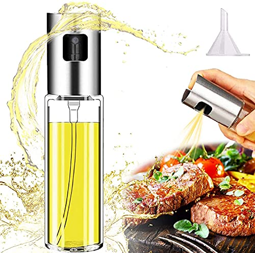 Cenekphy Olive Oil Sprayer for Cooking, Food-Grade Glass Oil Spray...