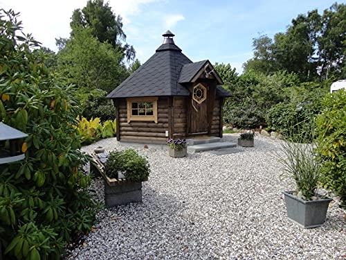 Generisch Grillkota 6.5m²   Hochwertiges Grillhaus für den Garten   Als Bausatz inkl. Montagematerial Via Nordica
