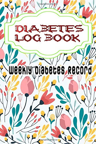 Diabetes Record Keeping Book: Diabetes Log Book Daily Blood Glucose Record Journal Size 6 X 9 Inches ~ Lunch - Compact # Track ~ Glossy Cover Design White Paper Sheet 100 Pages Very Fast Prints.