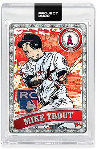 Topps Project 2020 Baseball Card 100 2011 Mike Trout by Blake Jamieson product image