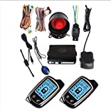 CarBest New Vehicle Security Paging Car Alarm 2 Way LCD Kit Automatic |