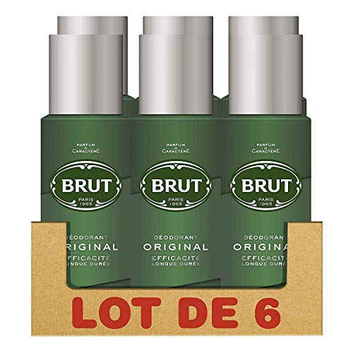 Brut Herren-Deodorant, Spray 200 ml, 6er-Pack