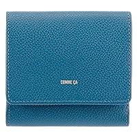 [コムサ] 二つ折り財布 本革 レディース モニカ 74750 COMME CA ミニ財布 牛革 レザー 【80】ブルー