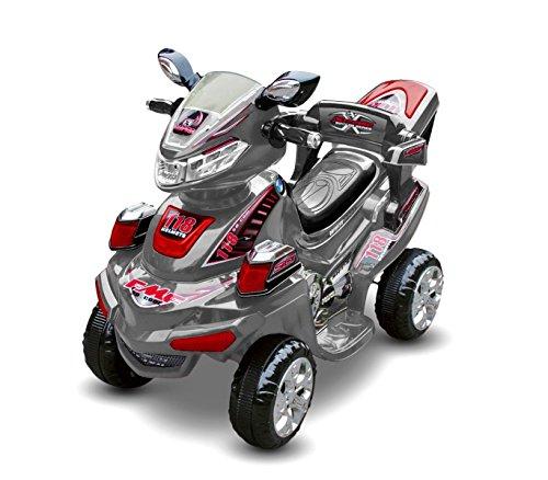 Farano Store Quad Elettrico per Bambini Extreme Grigio con RADIOCOMANDO,...