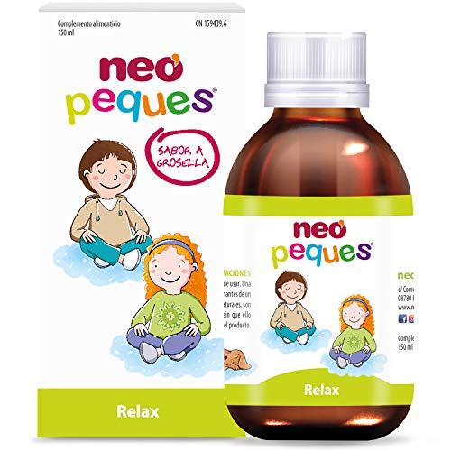 Neo Peques | Jarabe Infantil para Niños Relax | 150 ml | Ayuda a reducir la agitación nerviosa y la ansiedad de los niños | Principalmente contiene Melisa, Pasiflora y Manzanilla