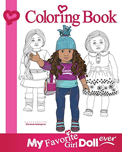 My Favorite Girl Doll Ever Coloring Book