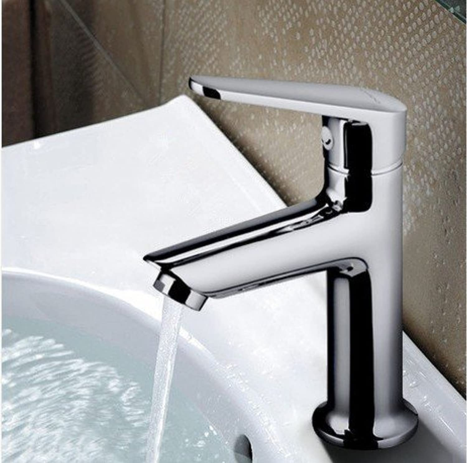 Lalf Copper Retro Hot and Cold Faucet