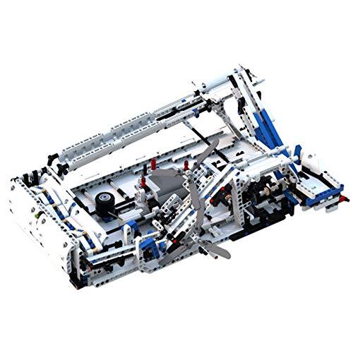 WDLY 1117 PC Baustein Kompatibel Mit Lego GBC-Pipeline, Puzzle-Spielzeug Technic Super Racing RC Car Kit,...