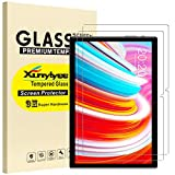 [2-Pack] XunyLyee Screen Protector Compatible with Teclast P20HD / TECLAST M40, Tempered Glass Film for TECLAST M40 10.1 Inch Anti-Scratch