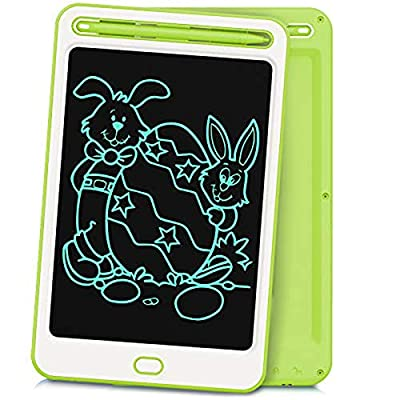 LCD Writing Tablet Richgv 8.5 Inches Electronic Writing & Drawing Doodle Board with Memory Lock for Home, School,Office Dark Green