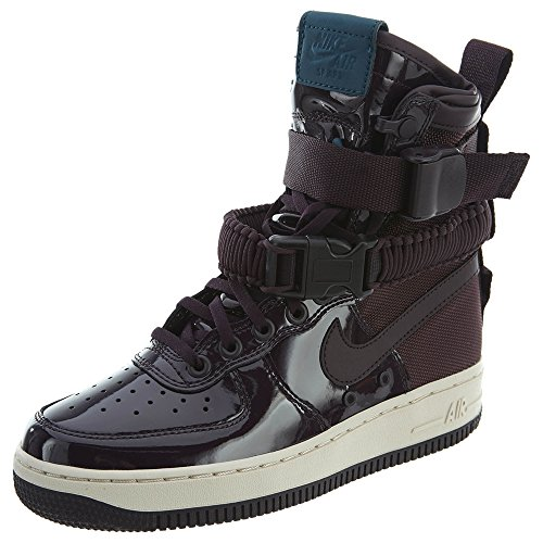 "Nike Air Force One SF Special Field AF-1 SE Premium Prm ""Port Wine"" Exclusive Collection, Schuhe Damen + Bolsa"