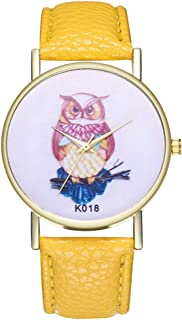 Ladies Wrist Watches on Clearance,Stainless Steel Watches for Women,Women Watches,Roman Numerals Watch Women (Yellow)